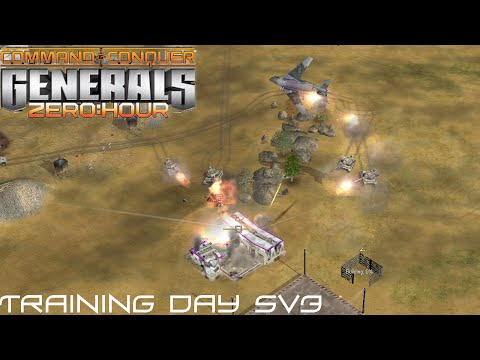 Command & Conquer Generals: Zero Hour Gameplay 5v3 Multiplayer Gameplay