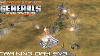 Command & Conquer Generals: Zero Hour Gameplay 5v3 Multiplayer Gameplay