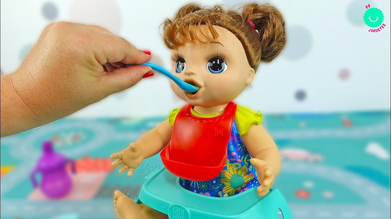¿Mejor que Sara? ¡NUEVO! Baby Alive Hungry Baby Muñeca que come de verdad 😱