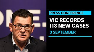 Victoria records 113 new coronavirus cases and 15 more deaths | ABC News