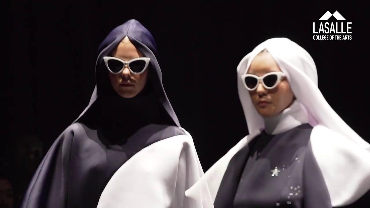 Lasalle Graduate Fashion Show 2017 Atelier Youtube