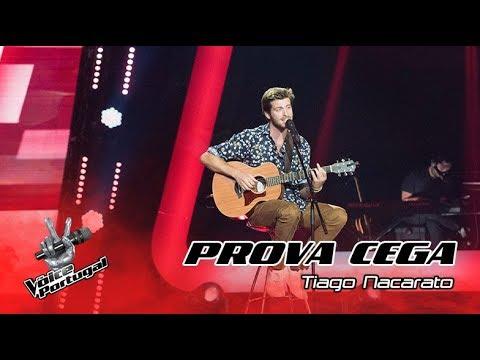 """Tiago Nacarato – """"Onde Anda Você""""  Prova Cega  The Voice Portugal"""