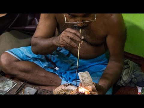Traditional 22K Gold Jewelry Manufacturing