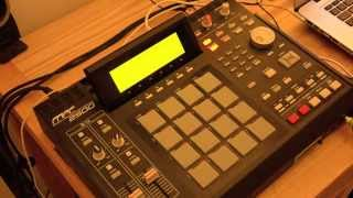 My first sample and beat with MPC 2500 (JJOS)