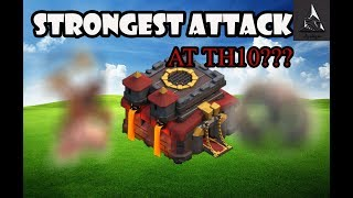 Best Clan War Attack Strat at TH10 after TH12 Update???
