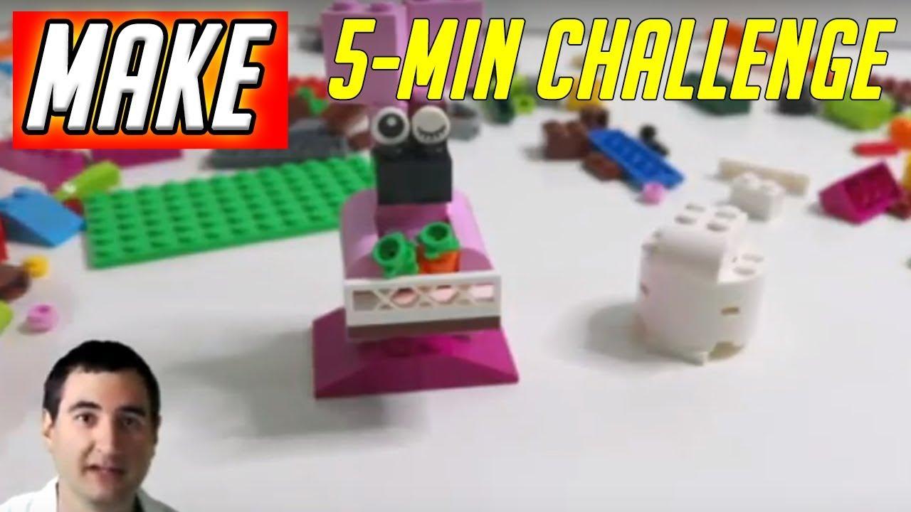 LEGO 5 Minute Challenge #11 - Bunny - Classic Creative Bricks 10692 Daily  Vlog