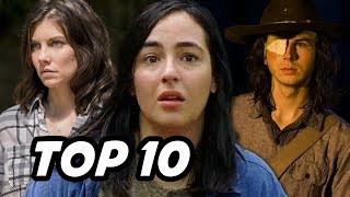 Top 10 WORST The Walking Dead Characters