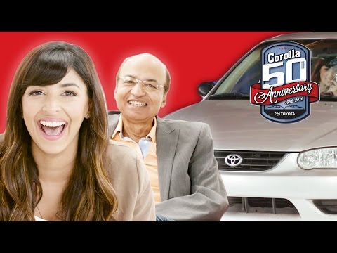 Dad & Daughter Relive Learning to Drive with Hannah Simone  Presented by BuzzFeed & Toyota Corolla