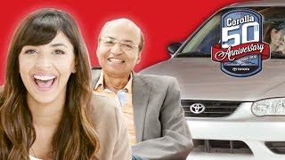 Dad & Daughter Relive Learning to Drive with Hannah Simone // Presented by BuzzFeed & Toyota Corolla
