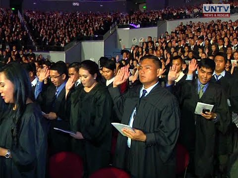 3,747 new lawyers take oath; urged to serve the provinces
