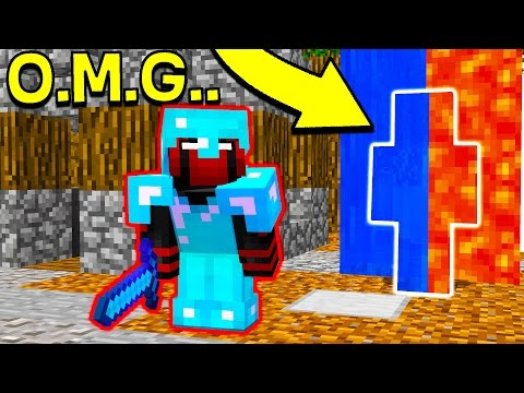 Thumbnail: I CANT BELIEVE HE DIDN'T SEE ME... (Minecraft Trolling)