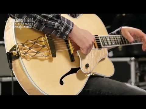 Gibson Custom Citation Electric Hollowbody Natural