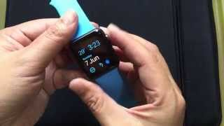 Unboxing of Blue Sport Band for the 42mm Apple Watch