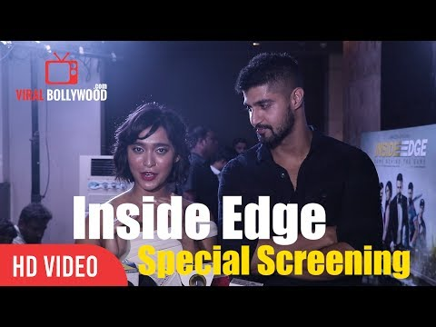 Tanuj Virwani With Sayani Gupta Inside Edge Special Screening   Richa Chadda, Vivek oberoi
