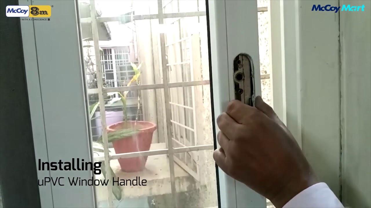 Replacing Pop Up handle on sliding windows