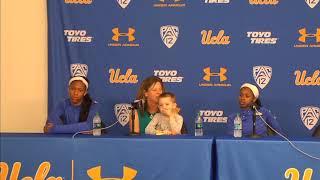 UCLA W. Basketball Postgame Press Conference - 1.5.18
