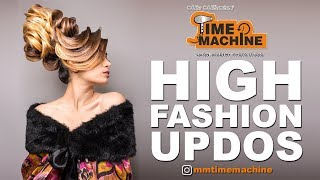 High Fashion Updos| TIGI Masterpiece|