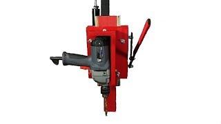 Homemade Drill Press. Benchtop drill press. How to Make drill press