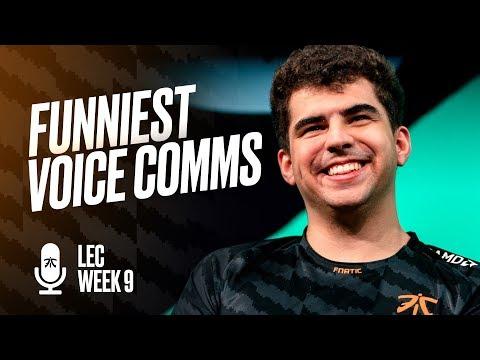 TSM XD | Fnatic Funniest Voice Comms (Week 9)