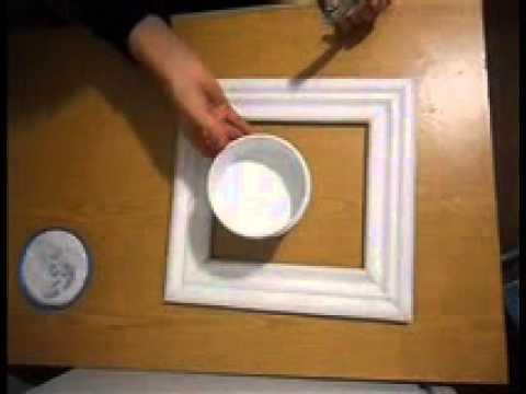 Украшение стены. Рамка-фото Совы. Видео № 25 - YouTube