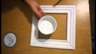 мастер класс по созданию рамки(мастер-класс по оформлению алмазной картины в самодельную рамку из пенопластового багета., 2013-12-09T17:50:17.000Z)