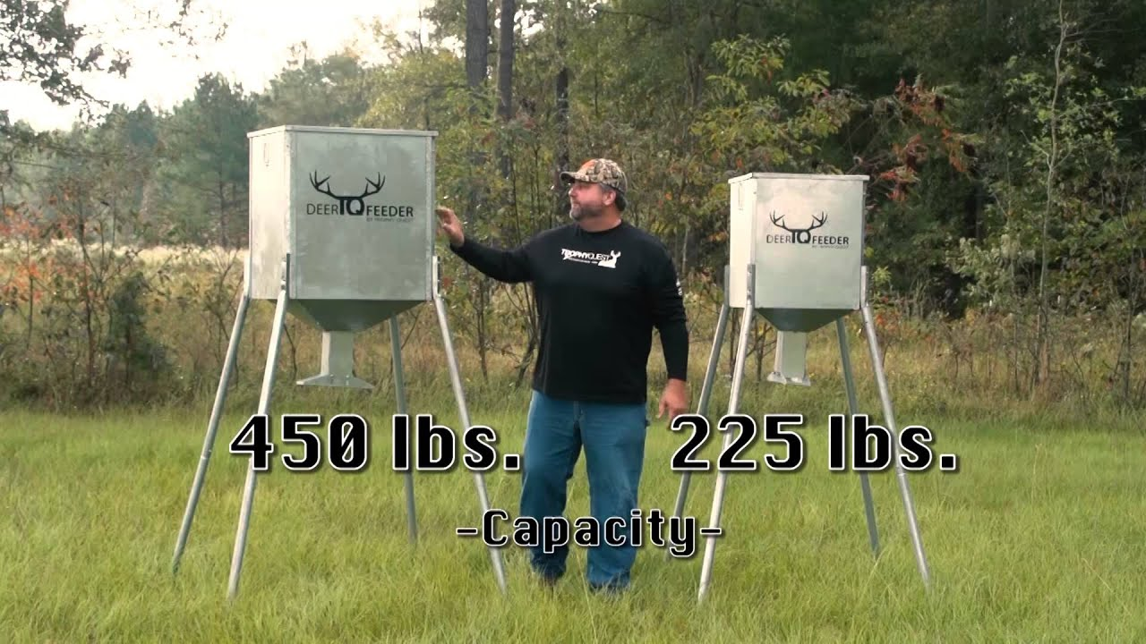 deer feeders blog to blinds the welcome buck boss o and feeder