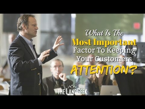 What Is The Most Important Factor To Keeping Your Customers Attention?
