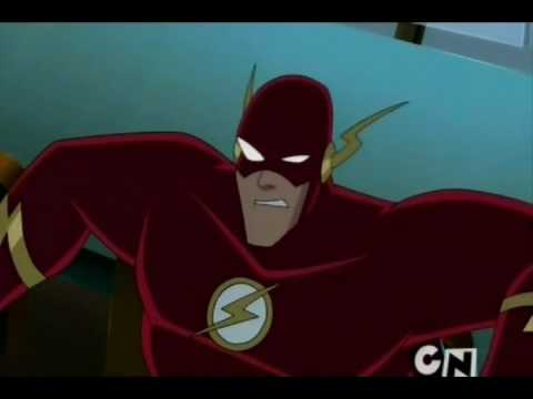 Justice league and Justice league unlimited funny clips