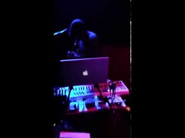 Klozd Sirkut @ the Green Frog 6 4 14, Synth Trpt Solo 'Down Slope'