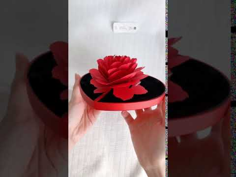 Red Shaped love box ( box only )