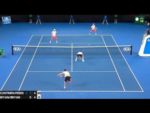 Bob Bryan Mike Bryan Vs Henri Kontinen John Peers Highlights (HD) FINAL 28 01