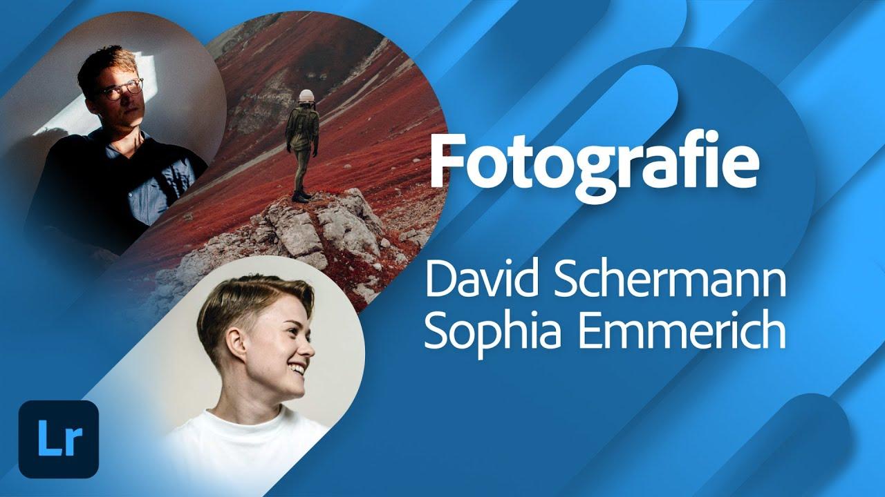 Fotografie mit David Schermann und Sophia Emmerich  Adobe Live