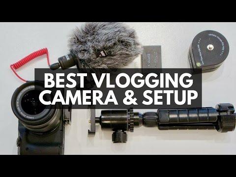 BEST VLOGGING CAMERA SETUP ON A BUDGET with external mic, wide lens, flip up screen