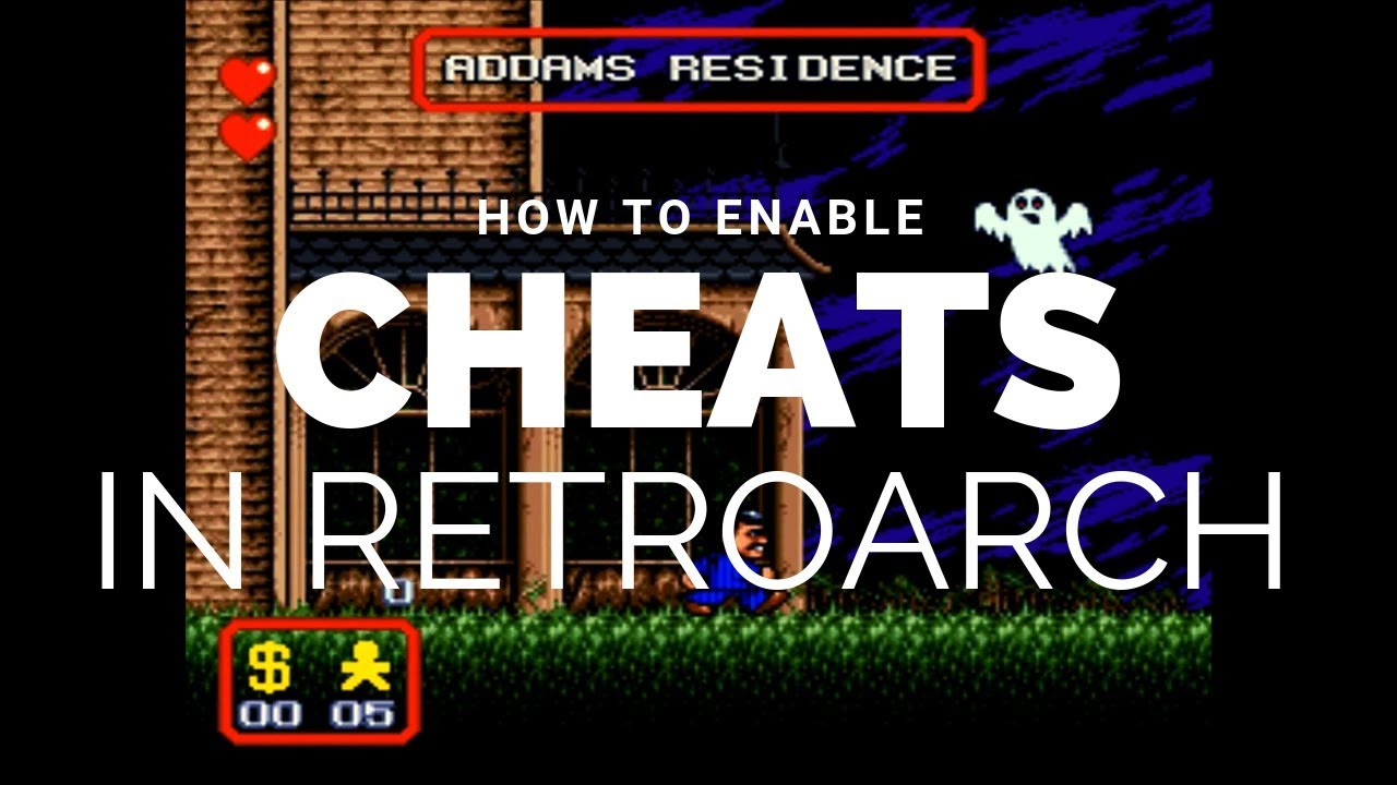 RetroArch Quick: Cheats