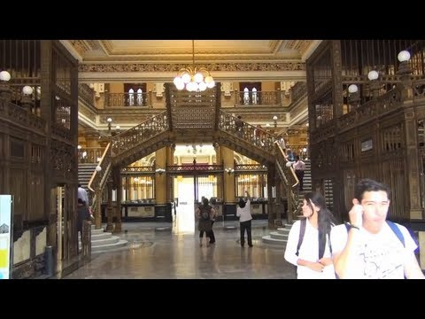 (3D) Historic Postal-Office - Mexico City Full HD 1080i (Sony HDR-TD30V)