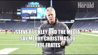 Merry Christmas to Pete Frates from Steve Buckley & Boston Media