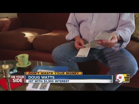 Man hit with high interest rates after receiving a 0 percent interest credit card