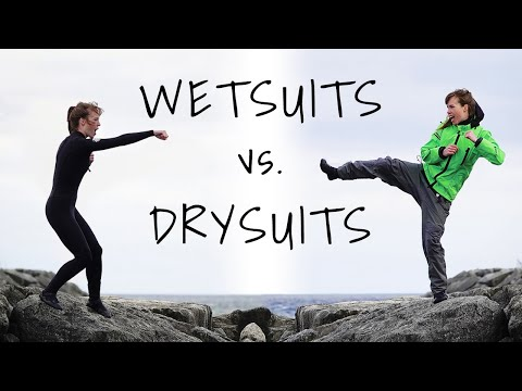 Wetsuits Vs Drysuits - What You Should Know For Cold Water Sports