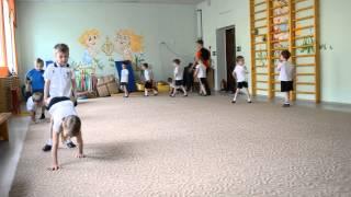 Открытый урок Акробатика детский сад №348 (28.05.15)