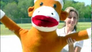 giant sock monkey 6 feet tall big plush sockmonkey large stuffed animal toy made in usa