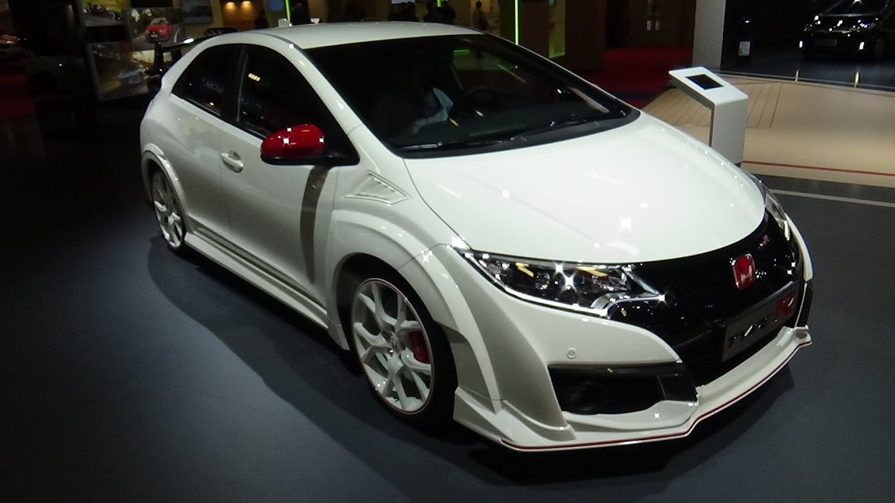 2017 Honda Civic Type R Exterior And Interior Paris Auto Show 2016 You