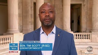 Sen. Tim Scott on Advice He's Given Trump on Disparity in Black Communities Amid COVID  | The View