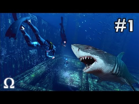 DEPTH: DIVERS VS SHARKS | #1 - MOST TERRIFYING SHARK ATTACKS EVER!