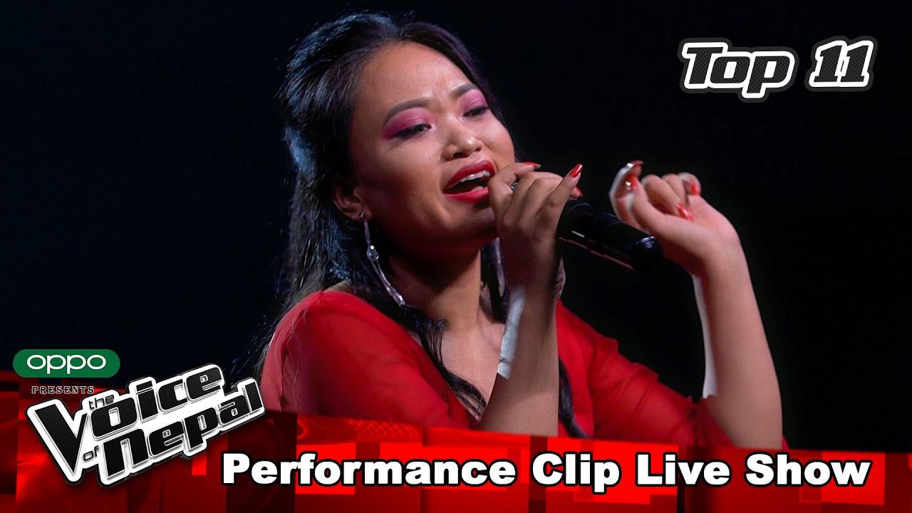 "Tara Shreesh ""Maan"" | LIVE Show Performance | The Voice of Nepal S3"