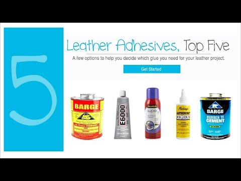 LEATHER GLUE TOP 5 + LIFE HACKS