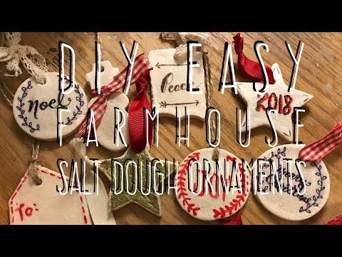 DIY EASY NO Cook Salt Dough