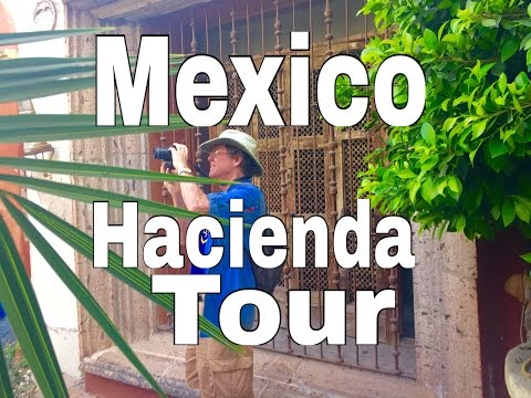 Jim Cook Tour Mexican Haciendas: Retire Early  Mazatlan Cancun Mexico City Puerto Vallarta Mexico