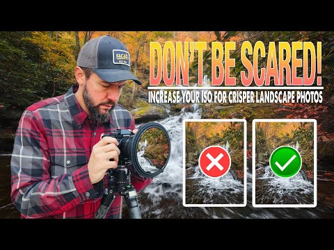STOP USING ISO 100!! (Landscape Photography)