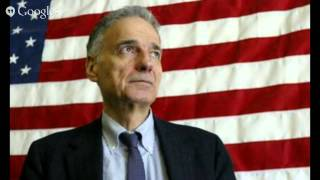 Ralph Nader Talks about Restoring The Value Of The Minimum Wage Back To the Way It Was 46 Years Ago