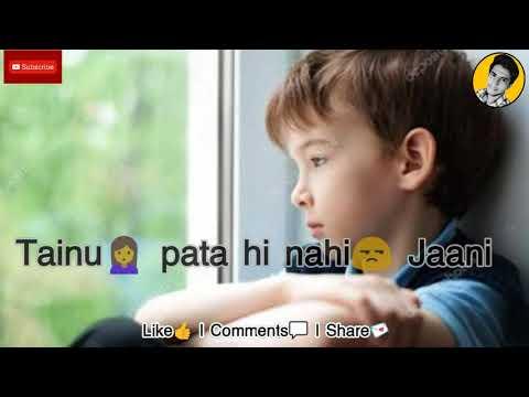 Pyar Tera Bacheyan Warga Hai Punjabi Sad Song WhatsApp Status | Baccha(prabh Gill) | Sad Love Status